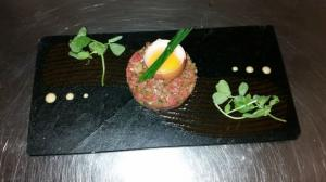 Beef Tartar by Exhibition Rooms