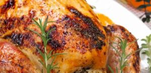 Turkey in rosemary and orange