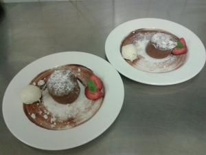 Chocolate Fondant by Exhibition Rooms